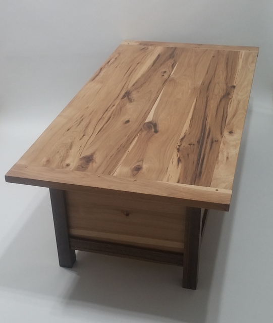 Superieur Custom Rustic Hickory Coffee Table